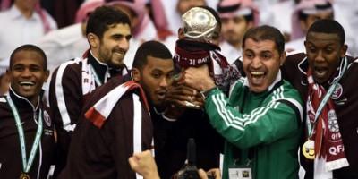 Le Qatar vainqueur de l'Arabie Saoudite (2-1) en 2014