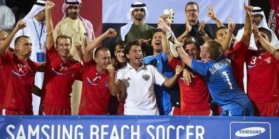 Beach Soccer: La Russie vainqueure de l'édition 2014 à Dubaï