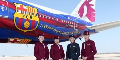 FC Barcelone - Qatar Airways ( photo FC Barcelone)