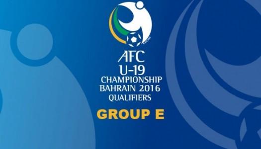 AFC U19 :Qatar, Japon Iran, un groupe explosif