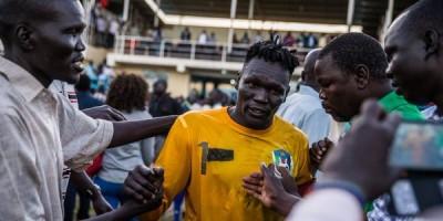 Juma Ginaro et le Sud Soudan accrochent leur puissant voisin le Soudan
