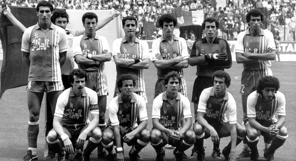 Kourichi avec l'Algérie au Mondial 1982