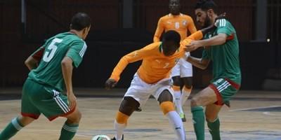 Futsal : Côte d'ivoire - Maroc  en éliminatoires
