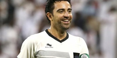 Xavi, premier titre national avec Al Sadd (photo qfaLqa)