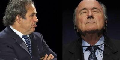 M. Platini & S. Blatter