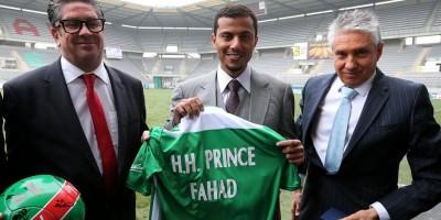 Prince Fahd nouvel actionnaire du CS Sedan Ardennes