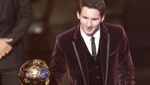 Ballon d'or FIFA : et de cinq pour Messi !