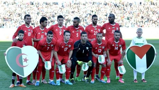 Amical: le football palestinien fêté à Alger