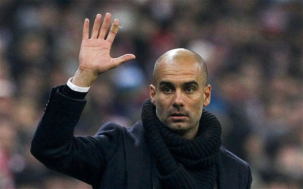 Pep Guardiola, Manchester City,