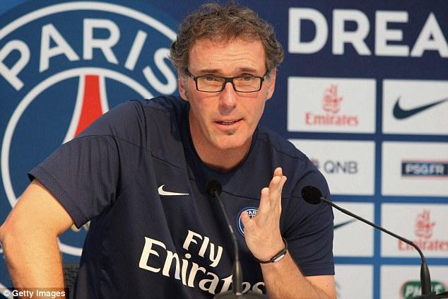 Laurent Blanc, Paris SG,