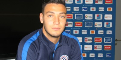 Ramy Bensebaini, le petit nouveau dans l'axe de la défense (photo Nasser Mabrouk),