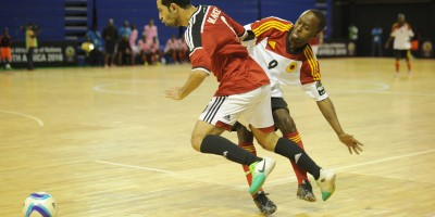 Futsal: Egypte - Angola