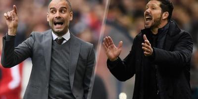 Pep Guardiola , Diego Simeone, Bayern Munich, Bayern Munich,