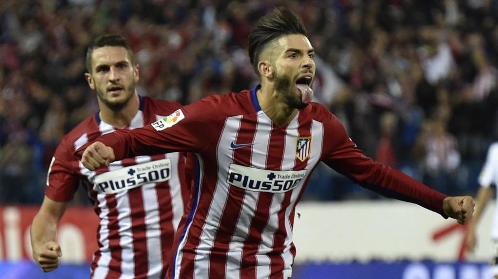 La rentrée de Yannick Carasco a fait du bien mais n'a pas suffi à l'Atletico