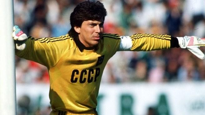Rinat Dassaev, URSS, Spartak Moscou,