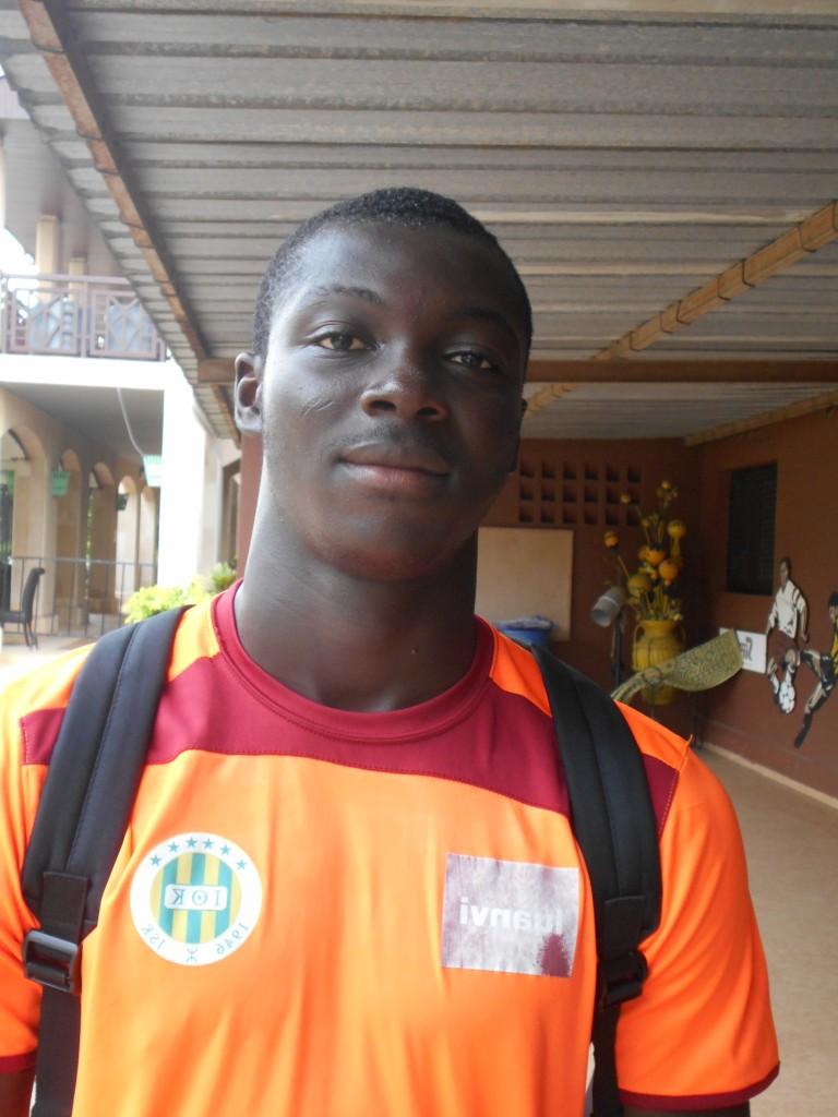 Le gardien de but Hervé Kouakou Koffi