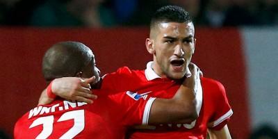 Hakim Ziyech, un dernier doublé avrec  le FC Twente avant de filer à l'Ajax ?