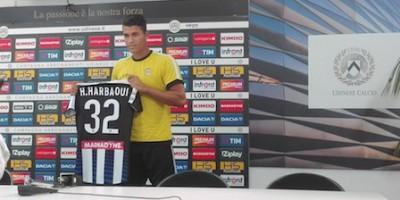 Harbaoui à l'Udinese