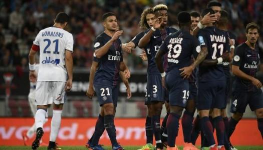 Trophée des Champions:   le Paris SG assomme Lyon (4-1)