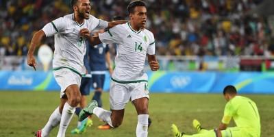 Le but de  de  Bendebka n'a pas suffi à l'Algérie face  à l'Argentine (photo fifa.com)