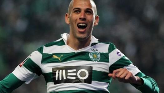 Sporting: Slimani absent à l'entraî  nement, mais…