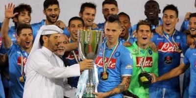 Super Coupe d'Italie 2014 à Doha : Juventus - Naples (2-2)