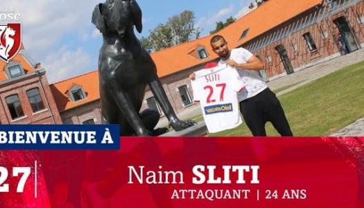 Lille: option levée pour Naïm Sliti
