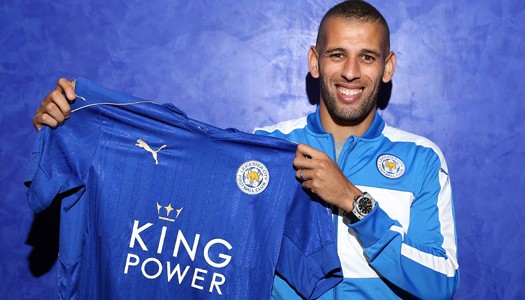 Leicester: les fans votent Slimani