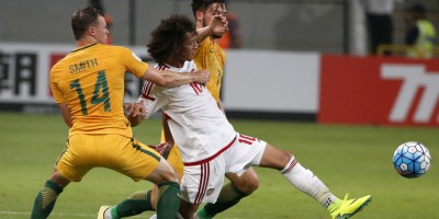 Grosse déception pour Abdulrahman et les Emirats défaits par l'Australie (photo afc.com)