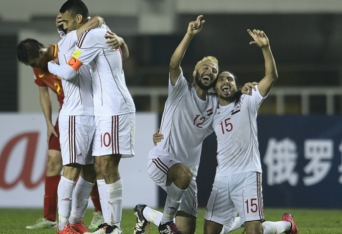 belle victoire syrienne en Chine ( photo afc.com)