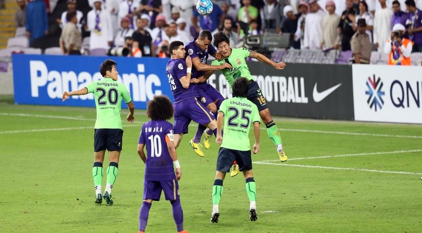 Al Ain - Jeonbuk (1-1), photo afc.com)