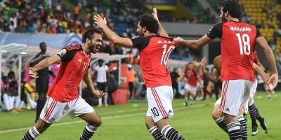 Egypte - Ghana (1-0) Photo cafonline