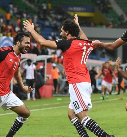 Egypte - Ghana (1-0) Photo cafonline