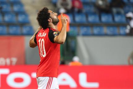 Mohamed Salah, une valeur estimée à 150 millions d'euros   (CAN 2017, photo caf.com)