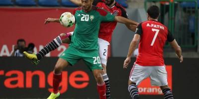Le Maroc  veut rester sur  le tempo de la CAN 2017  (Egypte, Maroc, 1-0 , photo Cafonline)