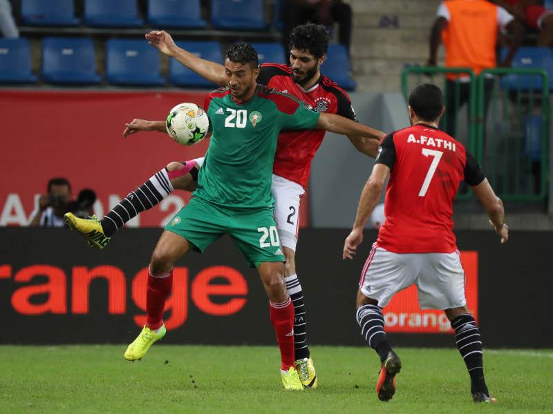 Egypte, Maroc, 1-0 (photo Cafonline)