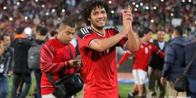 Mohamed Elneny  fait partie des  5  joueurs expatriés  convoqués par  Hossam El Badry (photo cafonline)