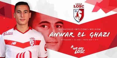Anwar El Ghazi à Lille