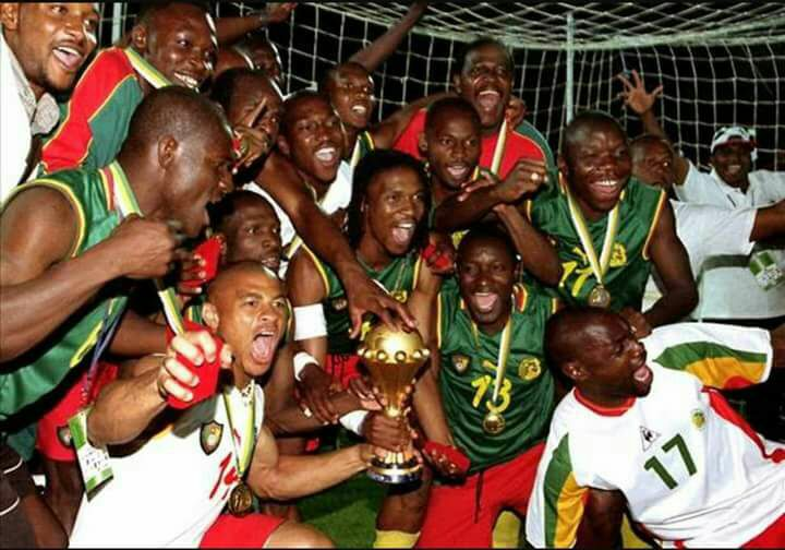 Lions Indomptables 2002
