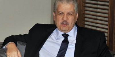 Abdelmalek Sellal, 1er ministre algérien