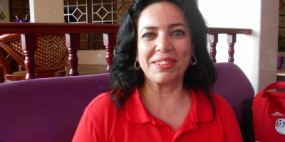 Inas Mazhar (Egypte)  Photo Samir Farasha ( 2022mag.com)