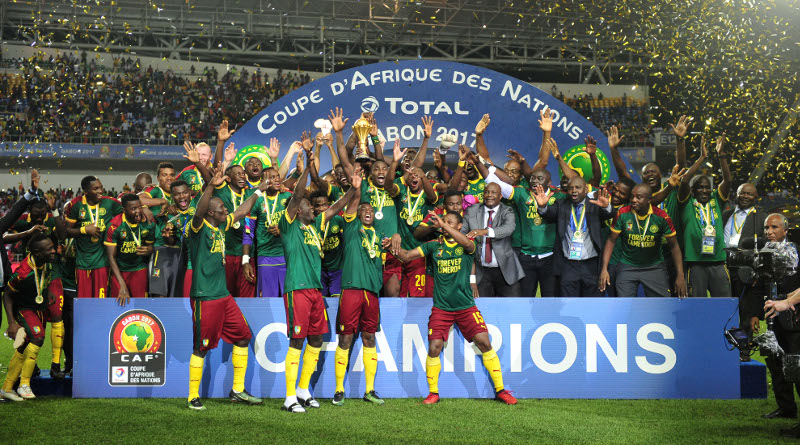 Les Lions Indomptables champions 2017 (photo cafonline)