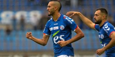Khalid Boutaib, deuxième meilleur buteur de Ligue 2