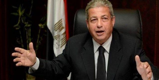 Khaled Abde-Aziz, ministre égyptien des Sports