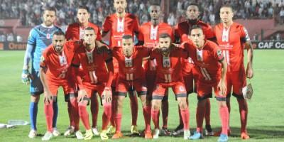 Le FUS Rabat  en demie (photo cafonline.com )