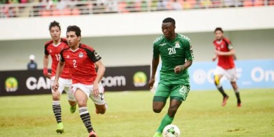 CAN U20: Zambie - Egypte (3-1), photo cafonline.com