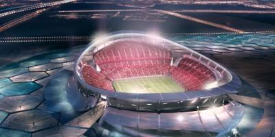 Maquette du Lusail Stadium
