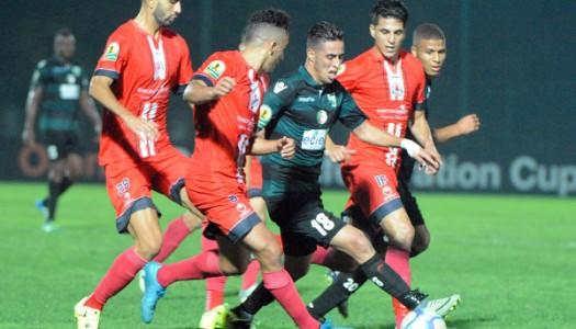 Coupe de la Confédération  FUS-MAS, derby marocain