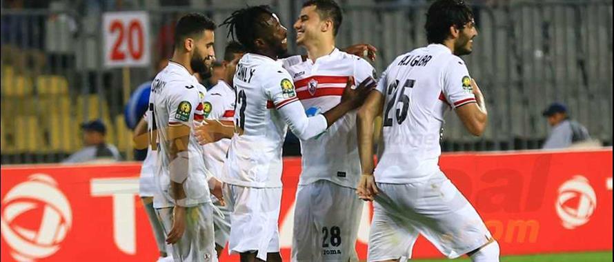 Premier match, premier succès  pour le Portugais Augusto Iniacio à la tête du  Zamalek  (photo cafonline.com)
