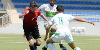 Jeux Islamiques de Bakou (photo Algérie-Turquie, 2-1)